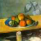 Apples, Peaches, Pears, Grape - Cézanne