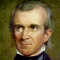 James Knox Polk, 11th US President, 1845-1849