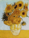 Vase with 12 sunflowers, Van Gogh