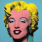 Portrait of Marilyn, Warhol