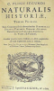 Naturalis Historia, 1st Encyclopedia