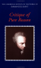 Critique of Pure Reason, Kant