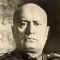Mussolini, Il Duce, Dictator of Italy